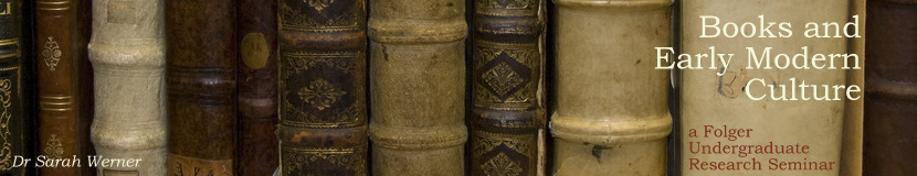 Books and Early Modern Culture