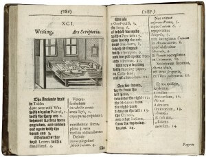 writing and reading Latin (or, early modern Busytown)