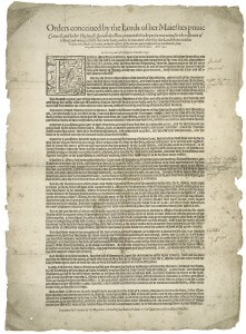 one sheet, one proclamation