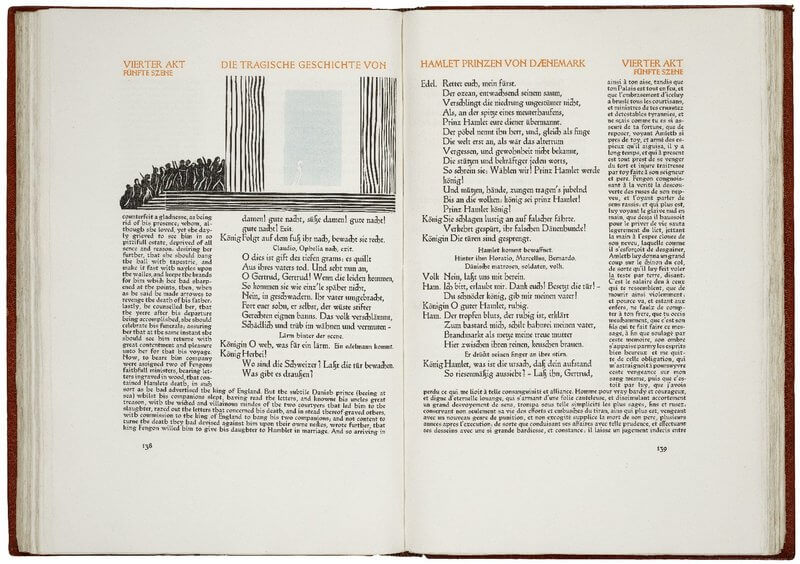 Cranach Press Hamlet (pp 138-139)